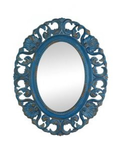 Belle Blue Mirror