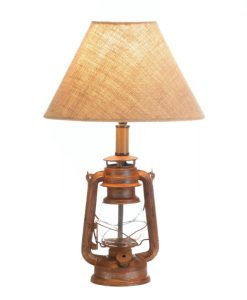 Camping Style Lantern Table Lamp