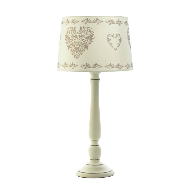 Hearts Table Lamp