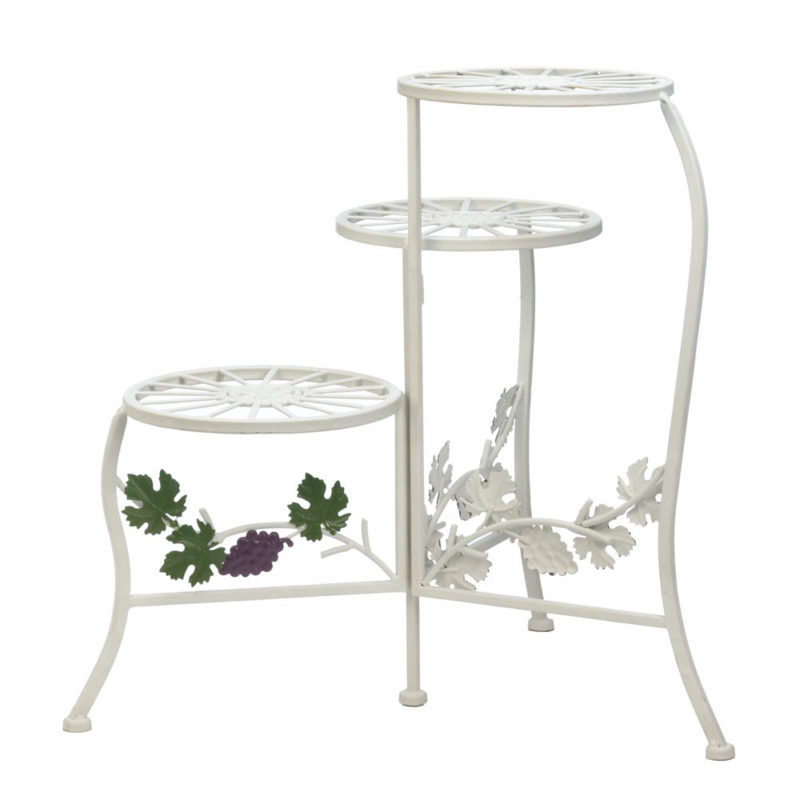 Grapevine Style Triple Plant Stand