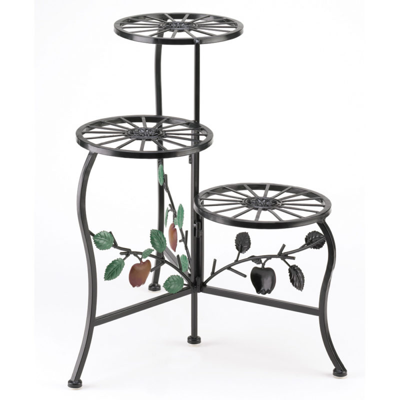 Apple Designed Plant Stand