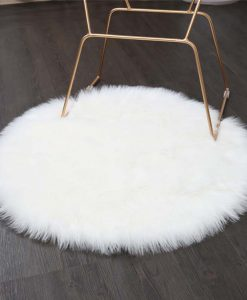 Artificial Sheepskin Rug - White