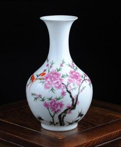 White Floral Vase - Style A