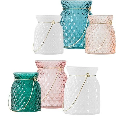 Colorful Glass Vase